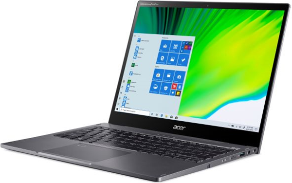 Acer Spin 5 13.5'' Touch QHD IPS i5-1135G7 8GB 512GB PCIe NVMe SSD B/L KB Garagable Stylus Win 10 Home 64Bit (SP513-55N-58ZN)