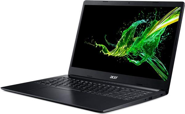 Acer Aspire A315-34-C8KF 15.6''FHD N4000 4GB OB 500GB HDD 802.11ac + BT Windows 10 Home 64Bit Black