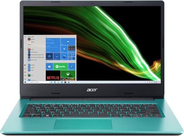 Acer Aspire A114-33-C55A 14''HD Celeron N4500 4GB OB eMMC 64GB SD Card Reader 802.11.ac+BT Windows 10 Home 64Bit Blue